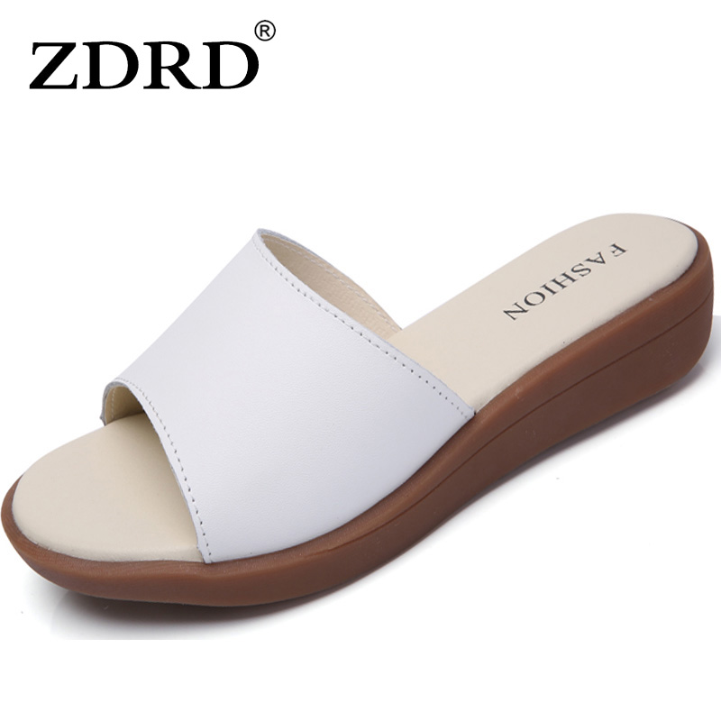 ZDRD Women Summer female slippers flat Korean fashion tide women sandals shoes home female for women slippers sandals zapatos mnixuan women slippers sandals summer