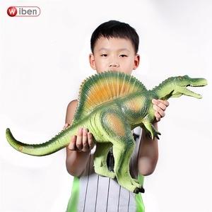 Image 1 - Wiben Jurassic ใหญ่ไดโนเสาร์ Spinosaurus ของเล่นพลาสติกสัตว์แอ็คชั่นและของเล่นตัวเลขเด็กของเล่นสำหรับเด็กผู้หญิงเด็กชาย