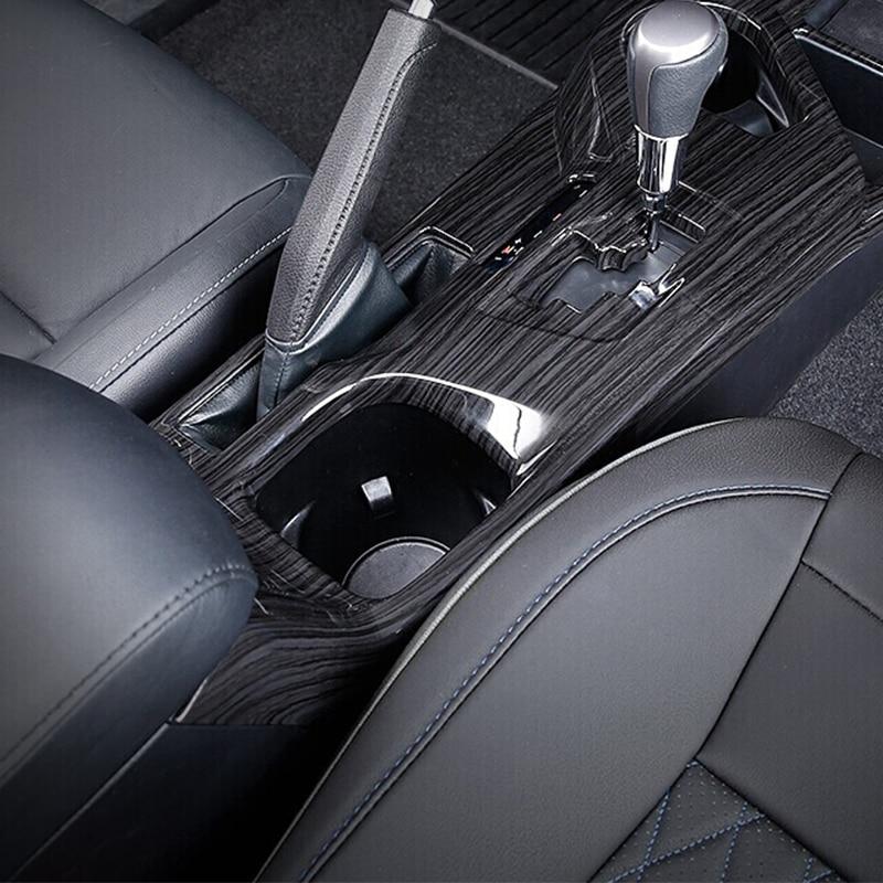 Pour Toyota RAV4 2016 2017 Accessoires Chrome Voiture Style Intérieur Boîte de Vitesses Bouton Couverture Main Changement Overlay Frame Panel 3 pcs
