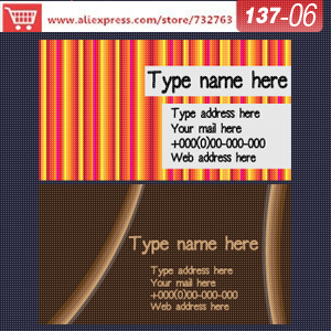 0137-06 business card template for printing cards create own business cards create own business cards