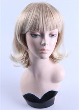 Free Shipping J03 Glamorous Fiberglass Realistic Female Mannequin Head For Wig Hat Scarf Display