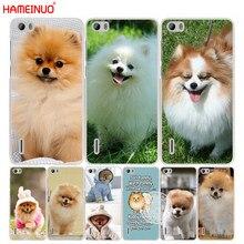 HAMEINUO – coque de téléphone portable, mignon, chien, perro, poméranien, pour huawei honour 3C 4A 4X 4C 5X 6 7 8 Y3 Y5 Y6 2 II Y560 Y7 2017