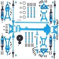 1 компл. Wltoys A969 полное обновление Запчасти комплект для RC 1:18 Масштаб 4WD Краткий курс Грузовик металлические аксессуары