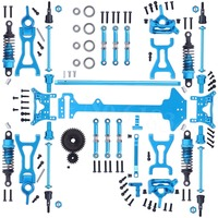 1 Set Wltoys A969 Complete Upgrade Parts Kit For RC 1:18 Scale 4WD Short Course Truck Metal Accessories