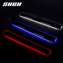 цена на SNCN Trim Pedal LED Car Light Door Sill Scuff Plate Pathway Dynamic Streamer Welcome Lamp For Infiniti FX30 FX50 F35 FX37 2013