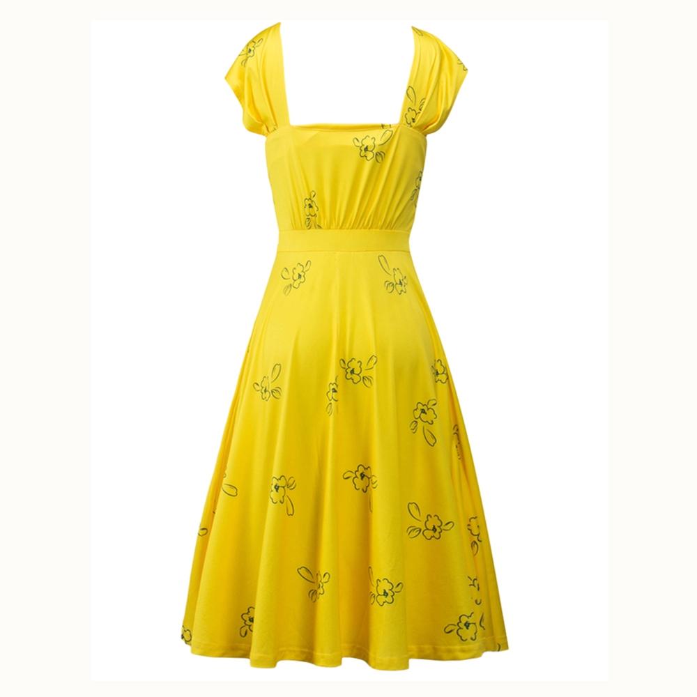 Gelbes kleid aus la la land