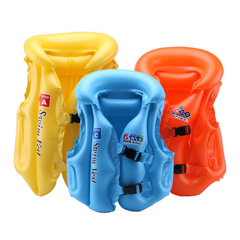 2019 PVC Children Float Swimming Aid Safety Float Inflatable Swim Vest Learn-to Swim Life Jacket Buoyancy Aid Vest For Kids