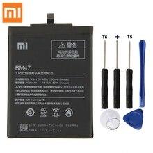 Оригинальный XIAOMI BM47 Замена Батарея для XIAOMI Redmi 3 3 S 3X 4X Redmi3 Pro Redrice Оригинальная батарея для телефона 4100 mAh