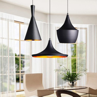 Modern LED Pendant Light Vintage Pendant Lamp E27 Base Edison Bulb Home Lighting Fixture Art Deco