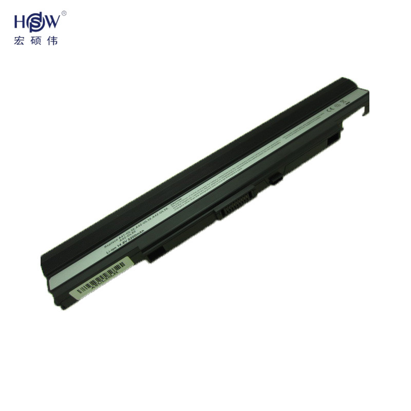 HSW 5200mah 8cells rechargeable laptop battery for A42-UL30 A42-UL50 A42-UL80 FOR Asus UL30 UL30A UL50 UL80 bateria akku