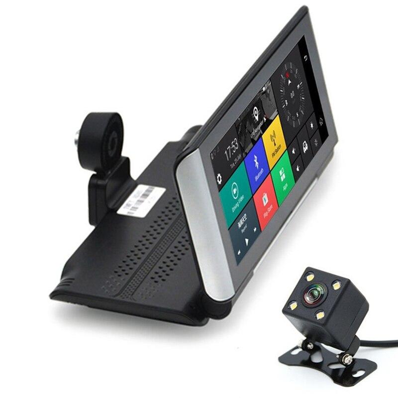 E ACE E01 voiture DVR GPS 4G Navigation Tracker 7 Android DVR voiture caméra WIFI 1080P ADAS enregistreur vidéo pour les navigateurs de tourisme automobile - 4