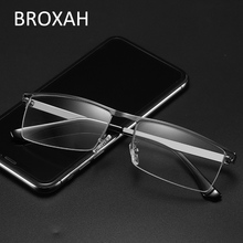Vintage Mens Metal Glasses Frame 2019 Classic Optical Women Retro Clear Lens Small Size Eyeglasses UV400 Gafas