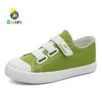 The Boys And Girls Canvas Shoes Cloth Shoes Children Fall 2017 New Children In Kindergarten Indoor