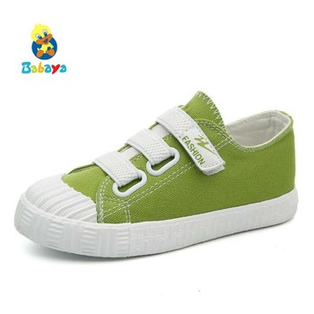 Kids Shoes Boys Girls Canvas Shoes Breathable Cloth 2017 New Spring Autumn  Children Shoes Boys Sneakers Fashion Toddler - hotdot review 7827f851931f
