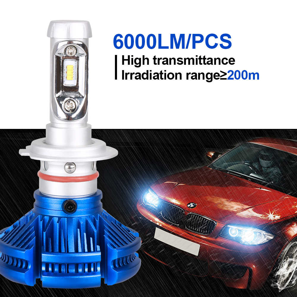 H7 H4 LED Car Headlight Bulb H1 H11 9005/HB3 9006/HB4 12V 6500K LED Auto Light For Opel Astra/Insignia/Mokka/Corsa/Zafira/Vectra