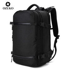 OZUKO Multifunctional Men Backpack travel pack Bag Male Luggage Backpack USB Large Capacity Waterproof laptop backpack Women NEW