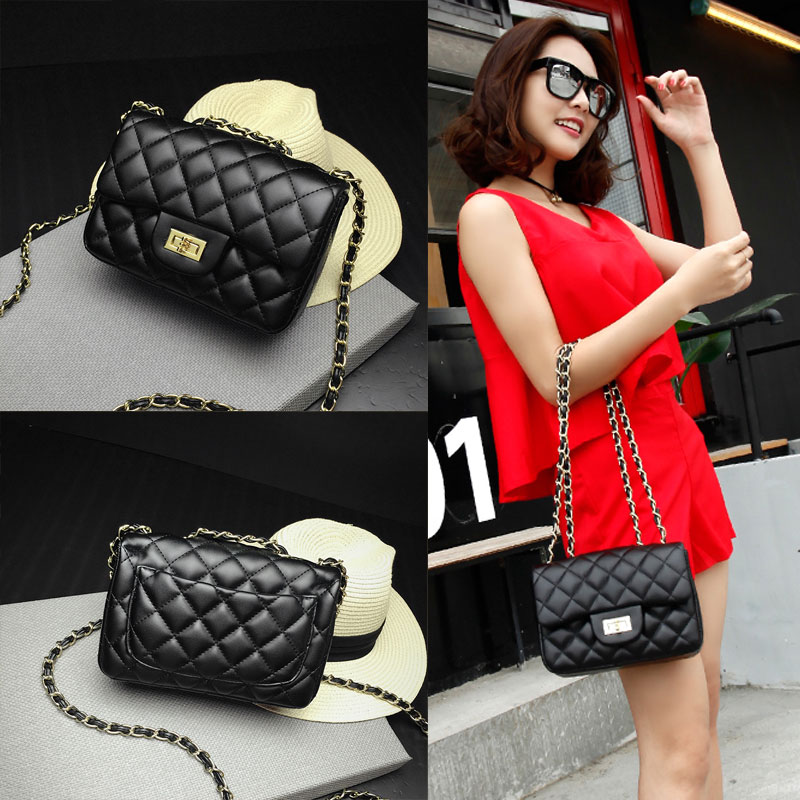 Z0007 quality leather flap bag ladies fashion solid crossbody bags women's handbags over shoulder chain messenger bags for girls chanel boy flap bag