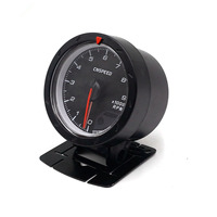 Universal Car LED Tachometer Gauge 2.5inch 60mm DC12V Auto Dual Color LED Tachometer Tacho Gauge Meter Shift Warnning Light