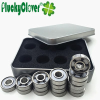 10 boxes /set 5 balls 608 Si3n4 Ceramic Bearing Professional Inline Skates 8mm Bearing Skateboard Bearing 8mm Scooter Bearing608
