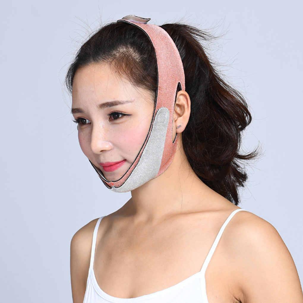 2019 ใหม่ Facial Thin หน้ากากใบหน้า V Shaper กระชับสัดส่วน Face Lift Up Sleeping ลดคู่คาง
