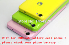 BINYEAE Original New Jiayu G4 G4S Back Cover Hard Case Battery Housing Case 3000mAh Version