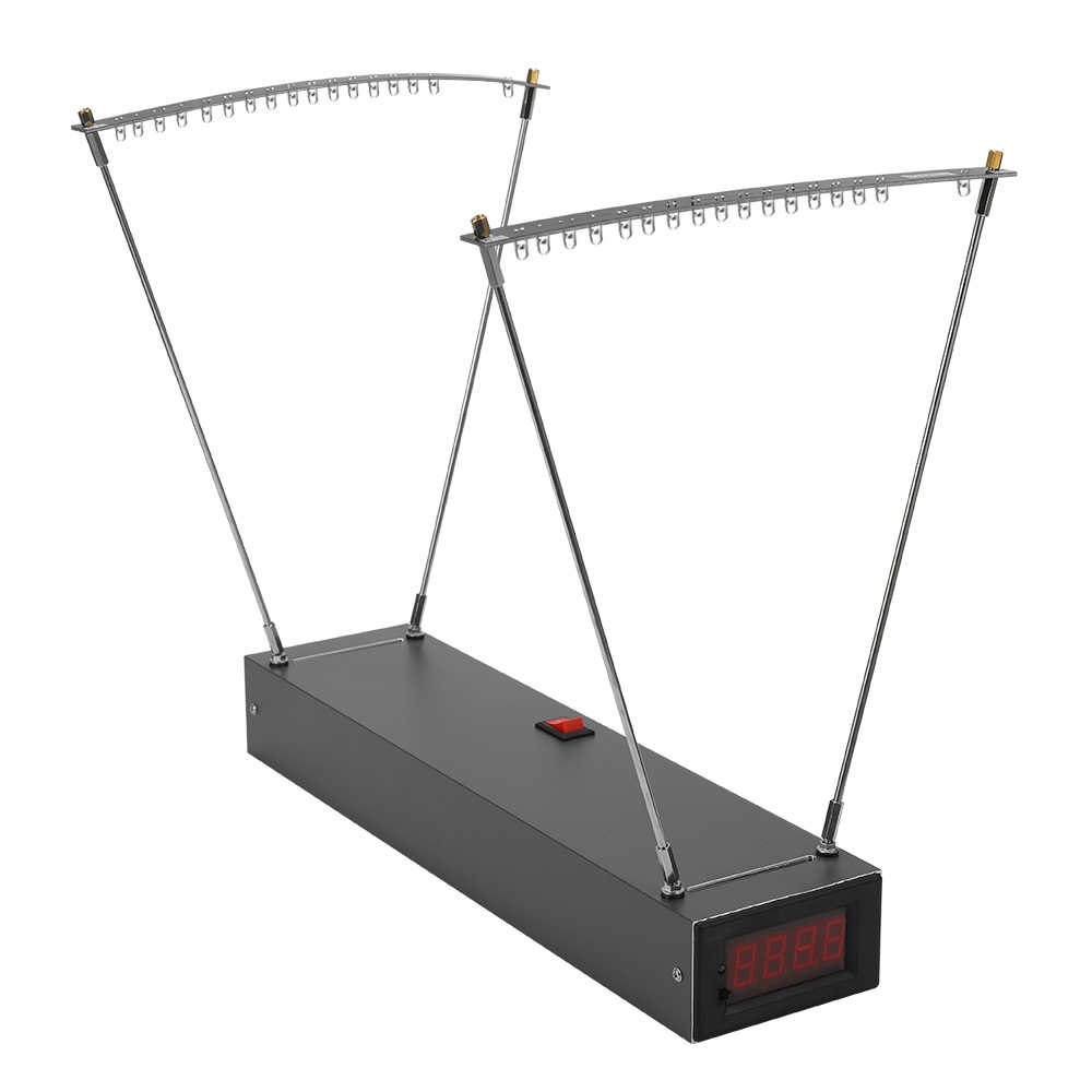 KKmoon Профессиональный инструмент для измерения скорости вращения рогатки из алюминиевого сплава
