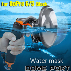 Dome Waterproof Case for Gopro Hero6/5 Durable Housing Case Shutter Dome Cover Lens Shooting Underwater photography accessories