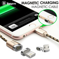 Baseus magnetic cable charger charging Micro USB Adapter For iPhone 5 7 6 6S Plus iPad Magnet charger Data Sync Retail package