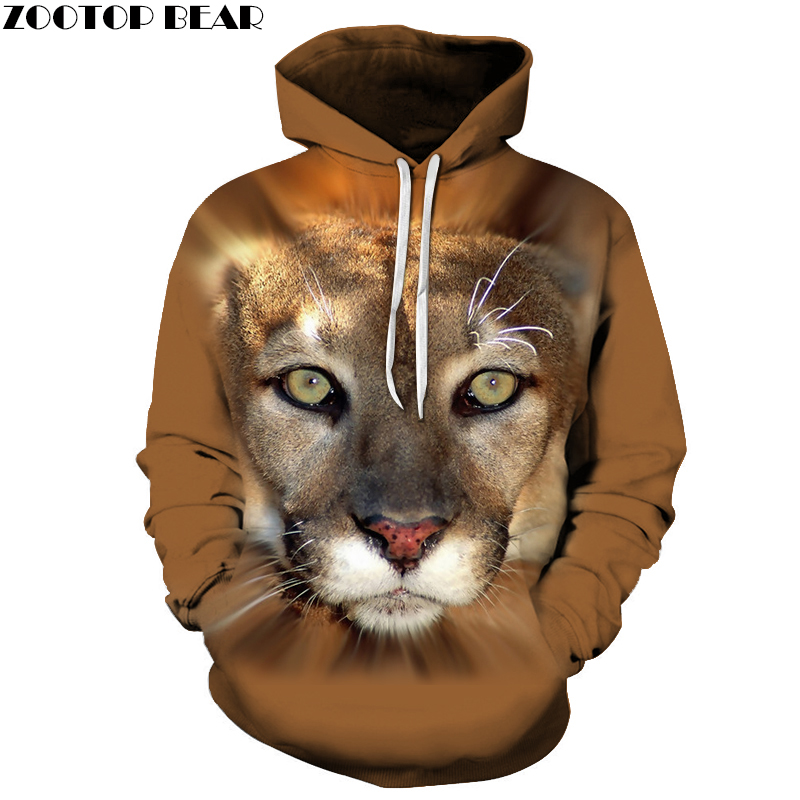 3D Printed Leopard Hoodies Men Women Sweatshirts Hooded Pullover Brand 6xl Qaulity Tracksuits Boy Coats Fashion Outwear New