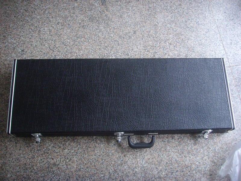 free shipping rectangle electric guitar hardcase цена и фото