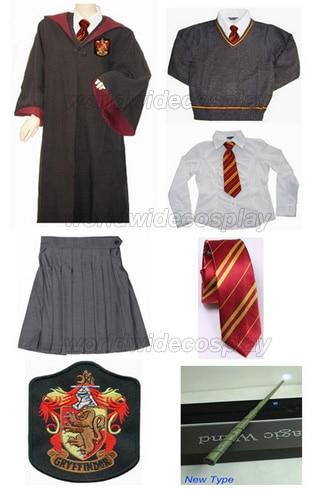 2016 New Harry Magic Tie Scarf Gryffindor Necktie Costume Boys School Ties