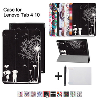 PU Cover Case For Lenovo TAB 4 10 Protective Smart Cover For Lenovo Tab410 Tab4 10