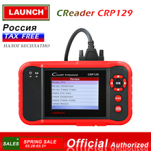 Launch X431 Creader CRP129 Four system ENG/AT/ABS/SRS Scanner code reader Resets Funcitons for Brake/SAS/Oil Service Light цена