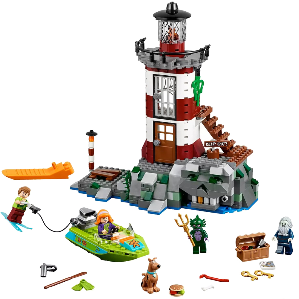 10431 BALE Scooby-Doo Haunted Lighthouse Model Building Blocks Enlighten Action Figure Toys For Children Compatible Legoe10431 BALE Scooby-Doo Haunted Lighthouse Model Building Blocks Enlighten Action Figure Toys For Children Compatible Legoe