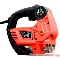 Portable Reciprocating Saw Electric Curve Saw Electric Jigsaw Electric Wood/ Metal Saws With 4 Sharp Blades Cutter M1Q QH 65