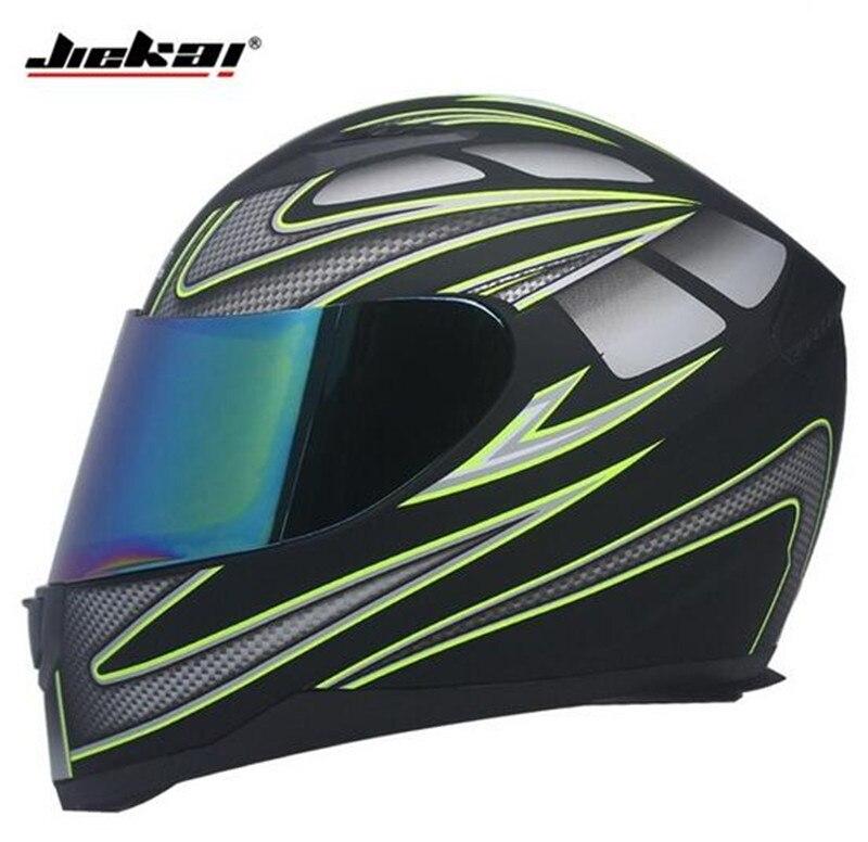 JIEKAI Motorcycle Helmet Full Face Motocross Mens Adventure Downhill DH Racing Casco Moto DOT