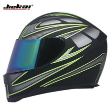 JIEKAI Motorcycle Helmet Full Face Motocross Mens Adventure Downhill DH Racing Casco Moto DOT