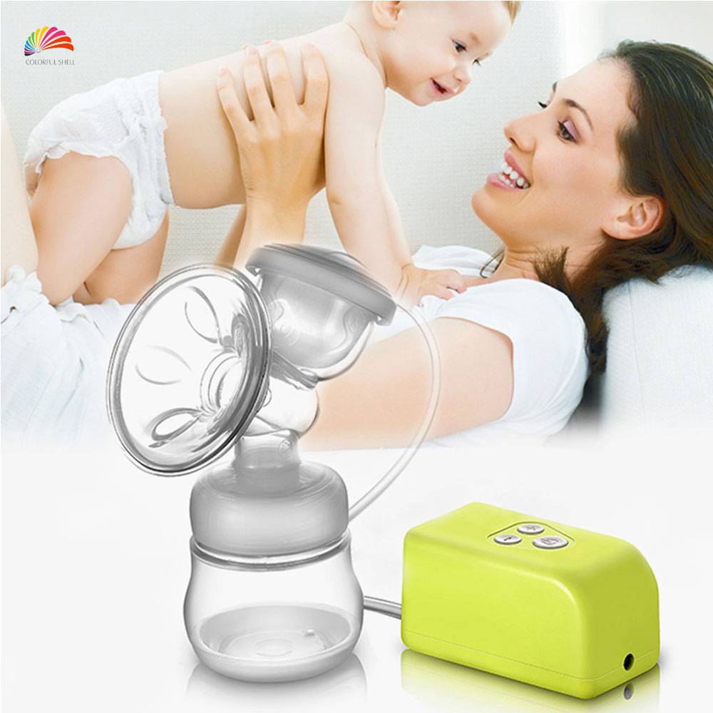 150ml Intelligent Electric Mom Breast Pump Prevent Suck-back Baby Feeding Unilateral Milk Pump Suction Bottle Sacaleche Electric