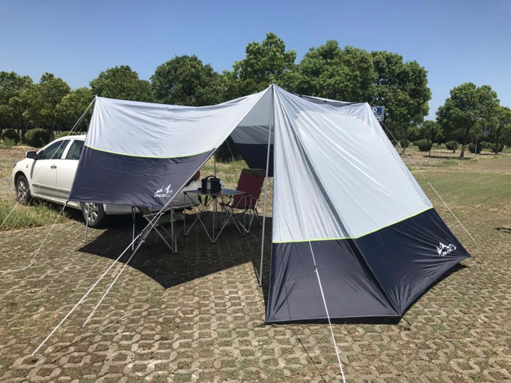 Ultralarge 5-6 person use Anti-UV for car use sun shelter camping tent large awning beach tent 5 8 person outdoor large camping tent anti ultraviolet awning tent folding fishing garden beach sun shelter 470 470 190 cm