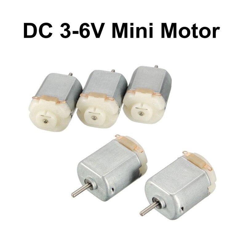 5 x DC 3V 20000-40000RPM 7x16mm Electric Toys DIY Coreless Mini Motor OS