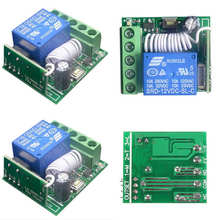 DIY Integrated Circuits Part 1pc 10A 1 Channel 433mhz Receiver Wireless  Relay RF Remote Control Switch DIY Module DC12V Mayitr
