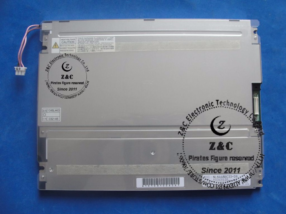 """NL6448BC33-59D LCD CCFL Affichage Écran 640x480 Pièces De Remplacement 10.4/"""" NEC"""