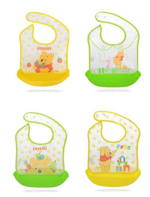 Accesorios de bebé suave con estampado de Mickey y dibujos animados desmontables de tela de eructo de Minnie de Disney 2