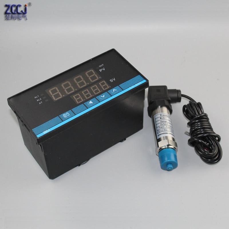 0 25Mpa 4 20mA digital pressure controller manometer with pressure sensor transmitter digital pressure switch pressure