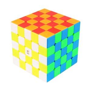 Image 3 - 新オリジナル渝信ちょっとした魔法5 × 5 × 5 m磁気キューブ62.5ミリメートルプロzhisheng 5 × 5スピードキューブ教育玩具子供のため