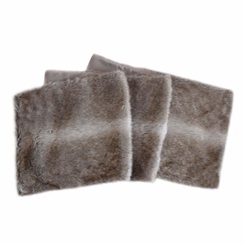 Free Shipping Christmas Table Runner Xmas Decoration Accessories Modern Faux Fur Cloth For Party Home Man