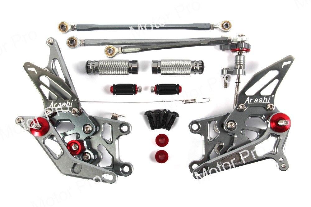 Adjustable Footrests For Honda CBR600RR 2007 2008