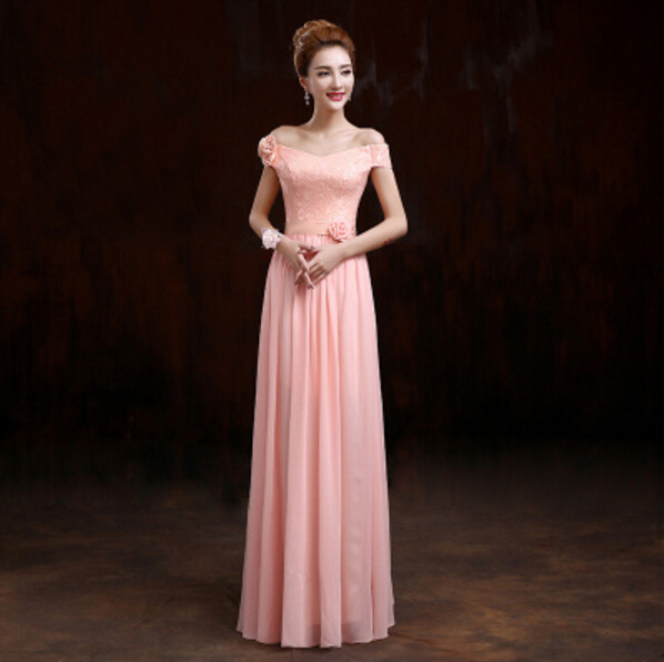 ladies special elegant evening gowns ladies formal party dresses long a-line  chiffon gown women dinner dress for wedding W1975 ba8bf12bcca4