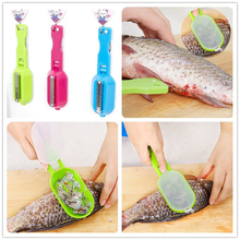 Smart Kitchen Gadgets – Stainless Steel Fish Scales Skinner