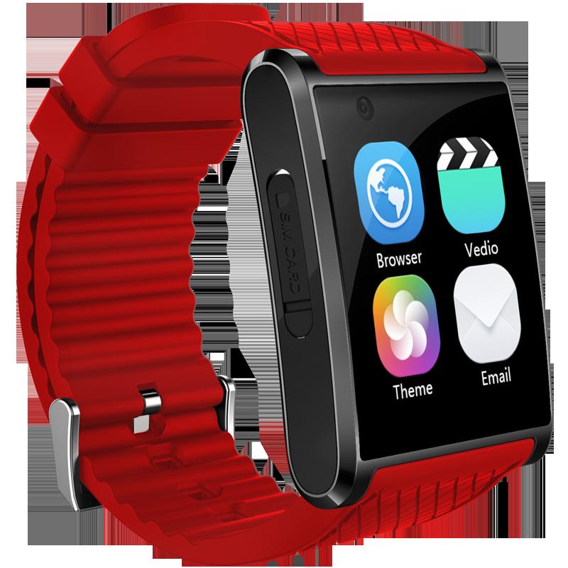 Fashion 3G wifi hand watch mobile phone price,camera sleep monitor SOS Android smart watch pk x01 z01 smart watch